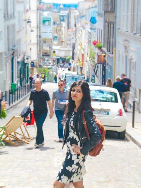 Travel blogger Nikita Das