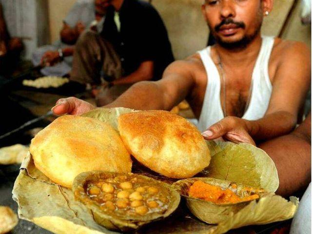 Luchi and aloo